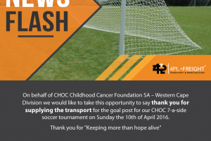 CHOC – Childhood Cancer Foundation SA
